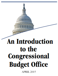 An introduction to the Congressional Budget Office cover