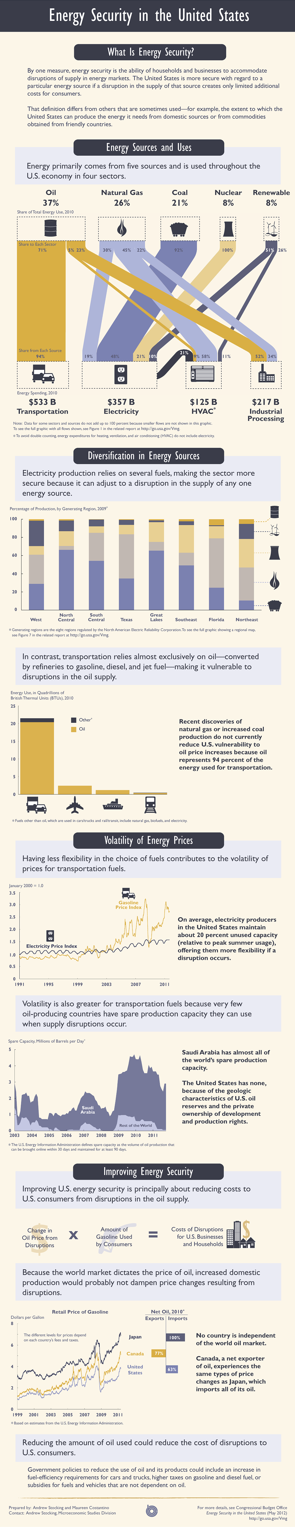 Energy Security Infographic