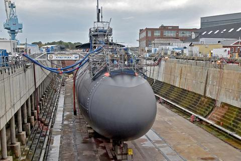 Costs of Submarine Maintenance at Public and Private